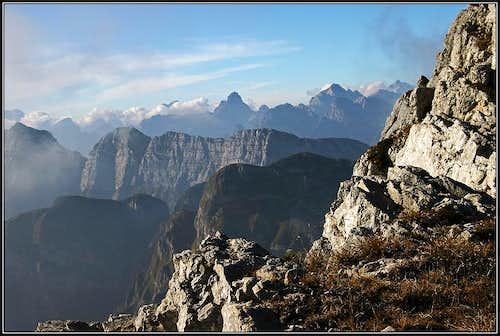On Monte Raut ridge
