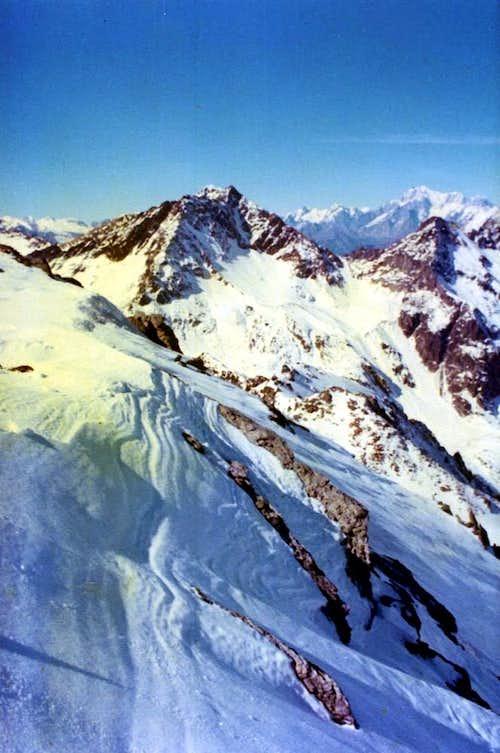 Leppe's Snowy Wind & Mount Blanc