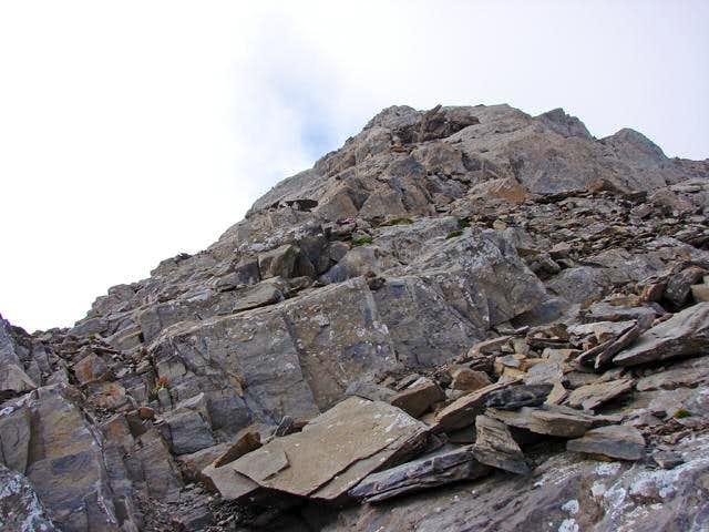 In the ridge of Veteranos