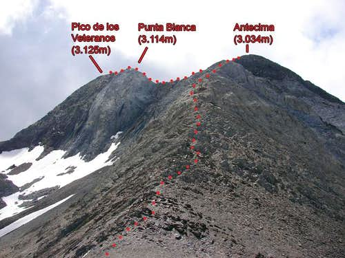 Ridge of Veteranos