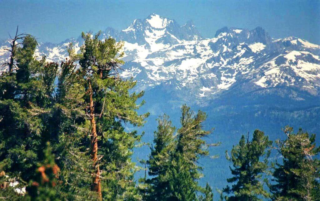 Ritter Range from Kaiser Pass area