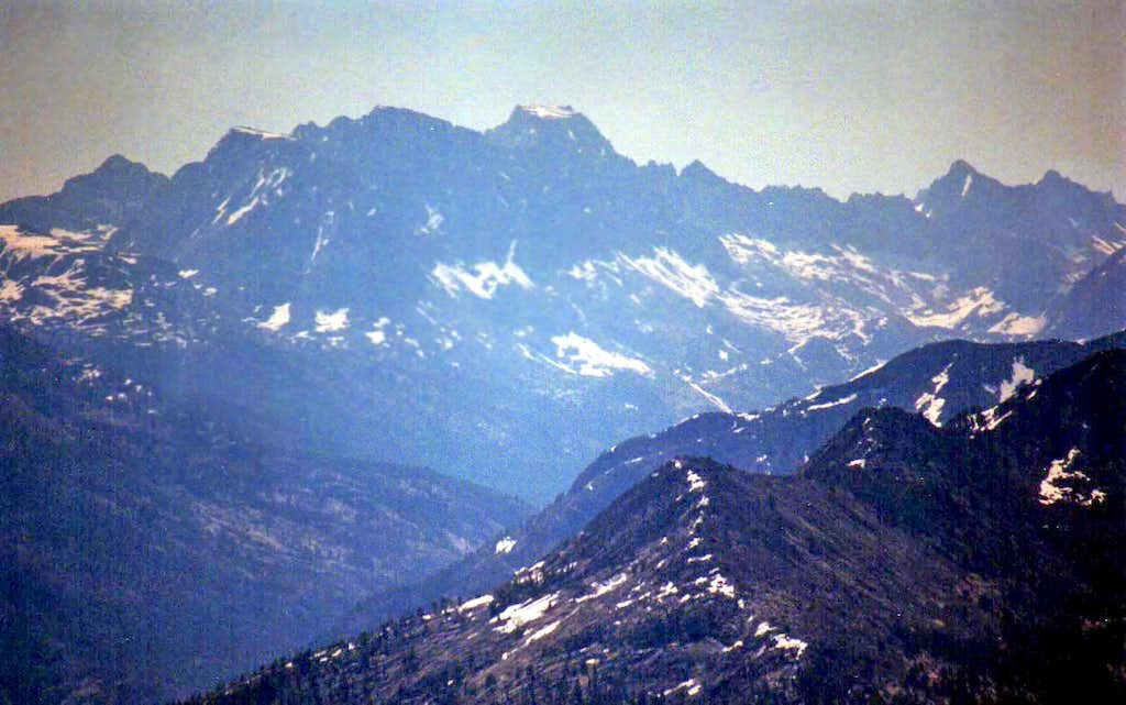 Evolution peaks from Mt. Ian Campbell