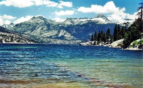 Florence Lake and Mt. Shinn