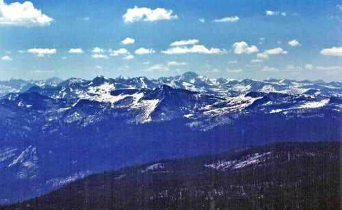 Southeast from Mt. Ian Campbell