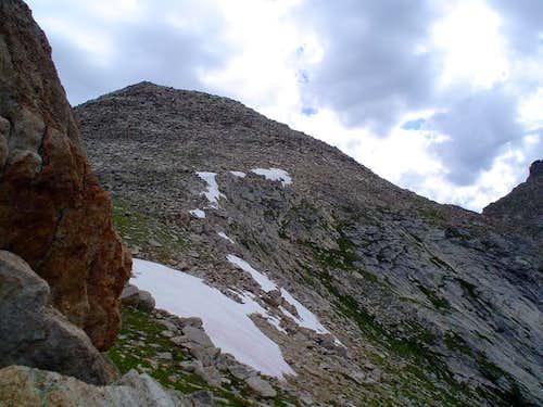 The summit of Warrior II...