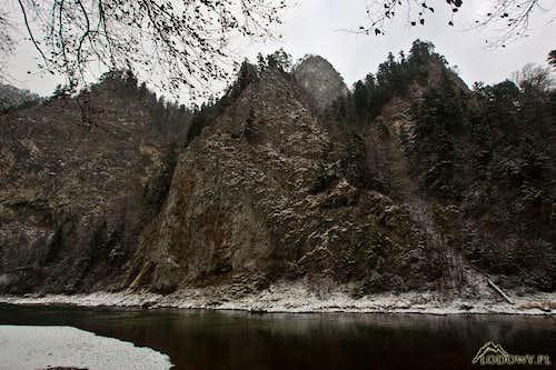 Dunajec river below Sokolica