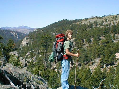 The Laramie Mountain Range...
