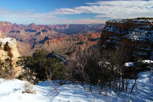 Grand Canyon Winter View