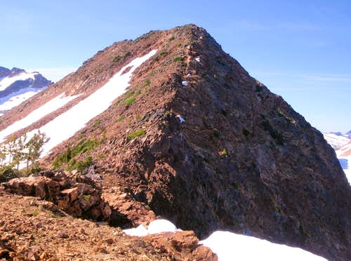 Red Mountain South Face