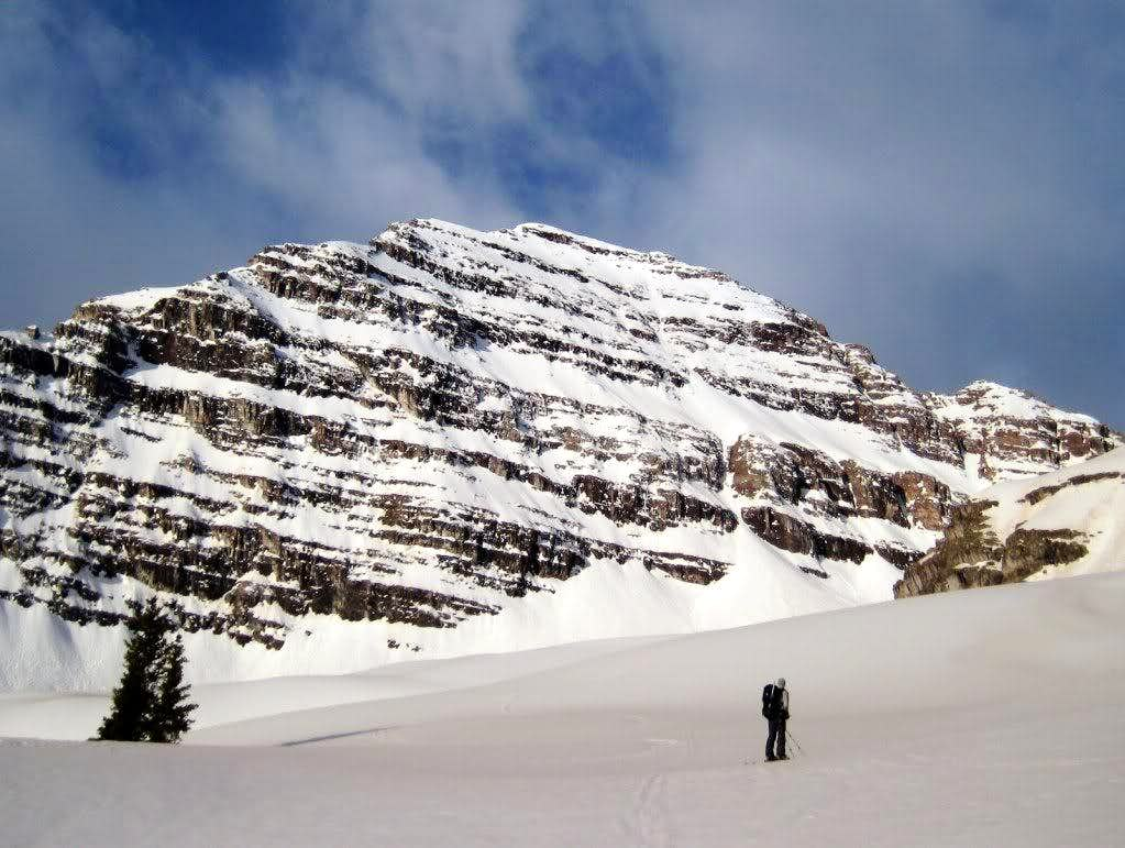 North Maroon Peak: North Face Ski Descent