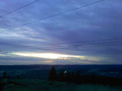 New Years Sunset - 2011