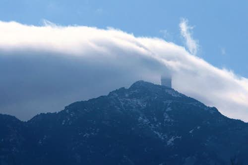 Kitt Peak in the Clouds