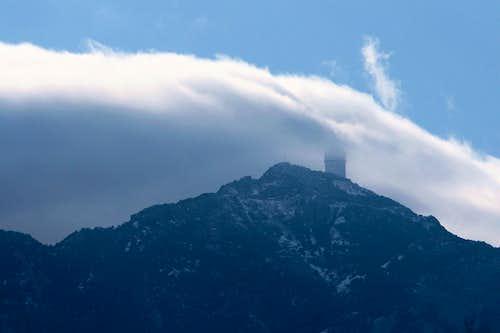 Kitt Peak in the Clouds