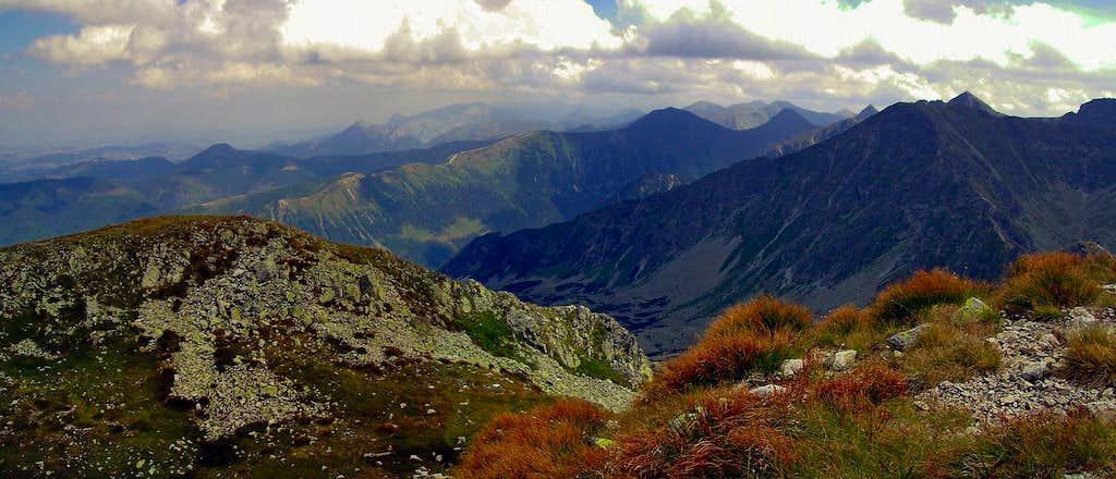 Western Tatras from Salatin
