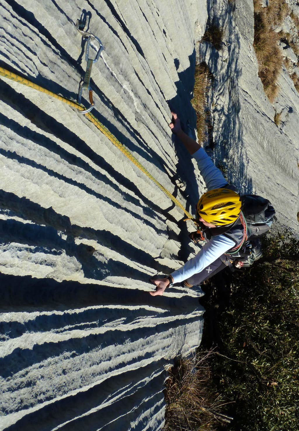 End of the year on Striped Slabs - Sarca Valley