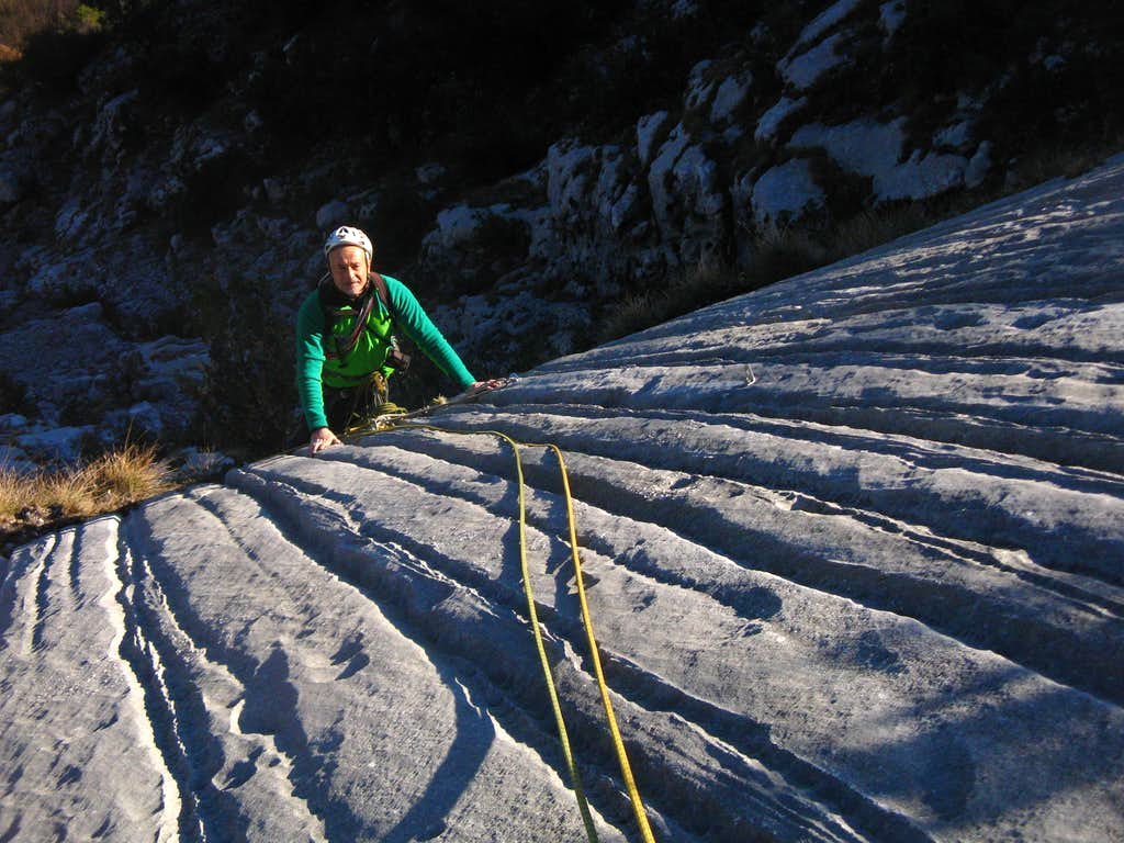 Long shadows on Striped Slabs - Sarca Valley