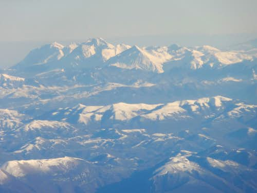 Italian Central Apennines and Grand Sasso range