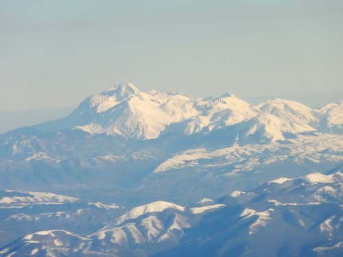 Italian Central Apennines, Monte Corvo and Grand Sasso range