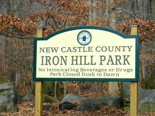 Iron Hill Sign