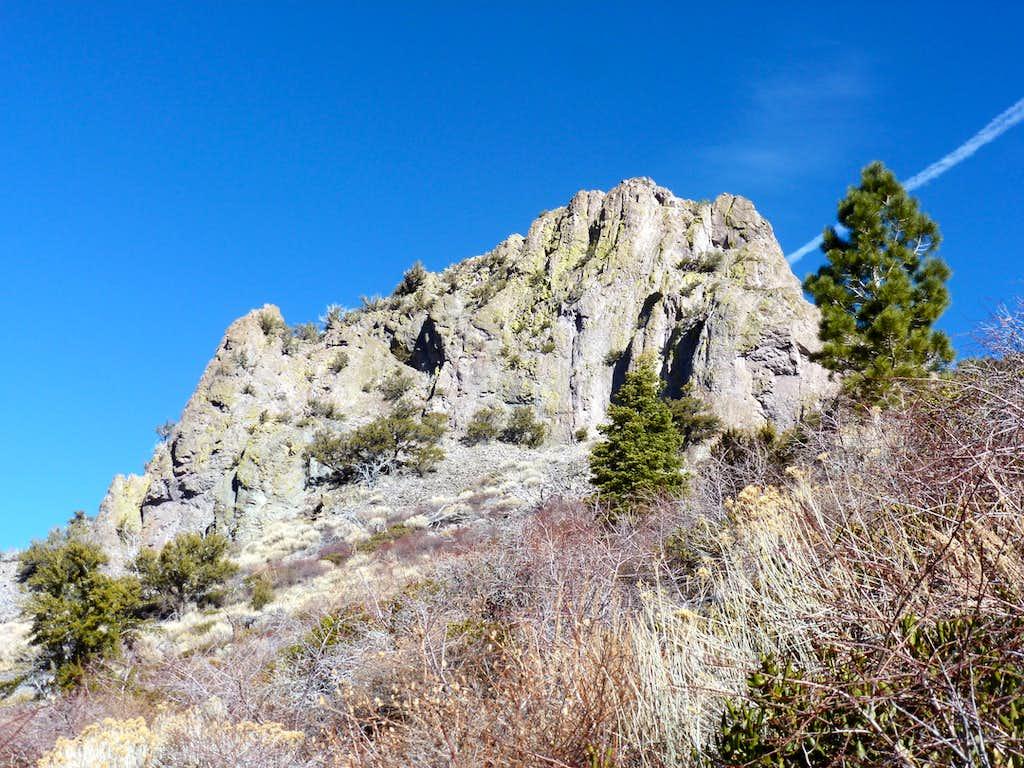 Cone Peak 7530' in the northern Carson Range
