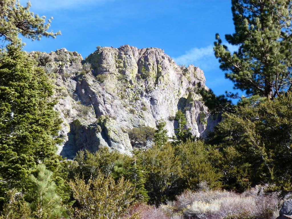 Cone Peak south face