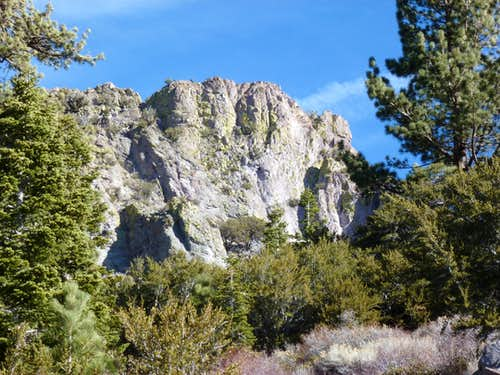 Cone Peak south face