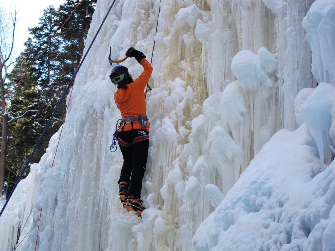 Opening Day in the Ice Park