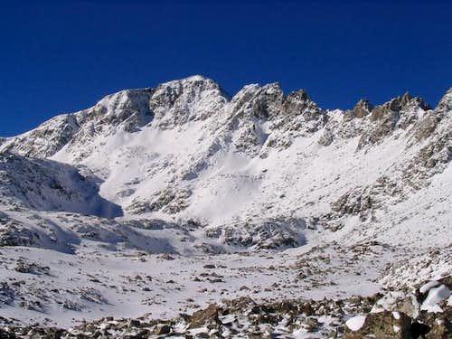 Fletcher Mountain from the NE...