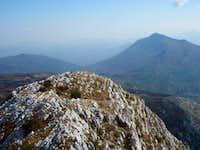 Matokit from Mihovil ridge