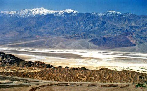 Panamint Range with Telescope Peak