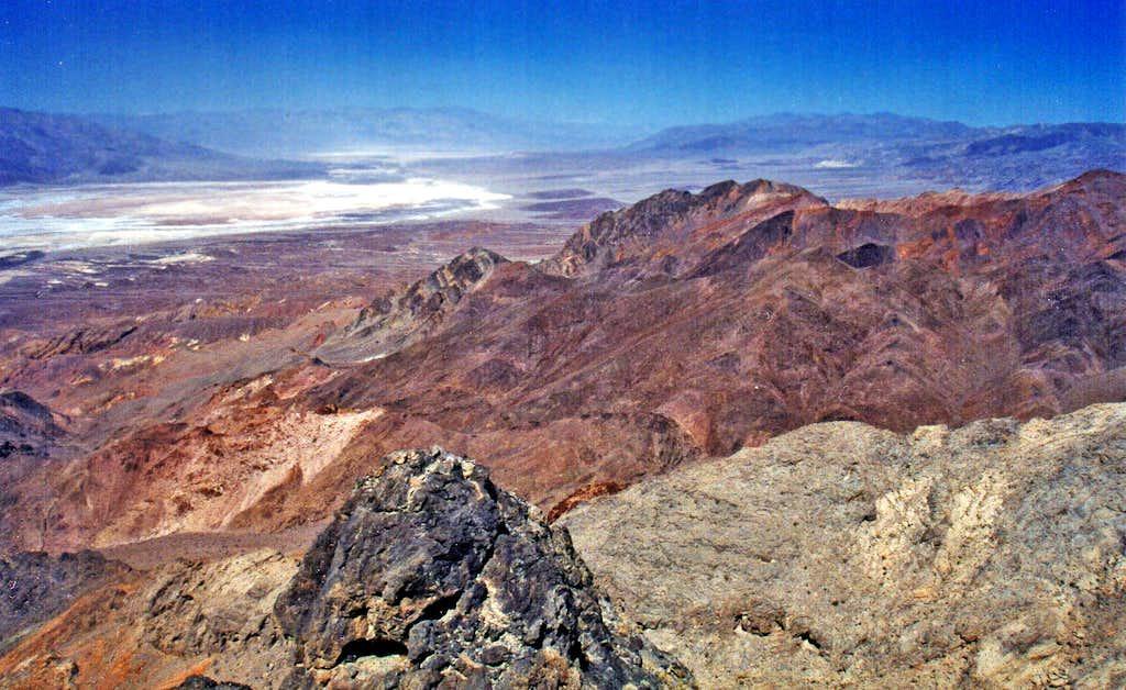 Death Valley north from Phantom Peak