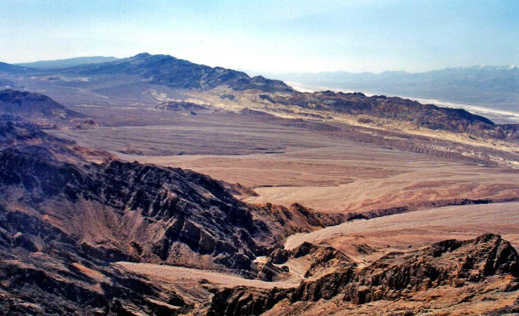Southwest from Phantom Peak lower slope
