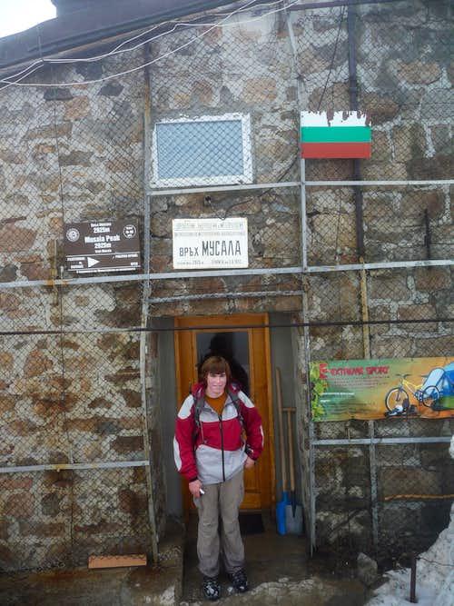 Me at summit of Musala