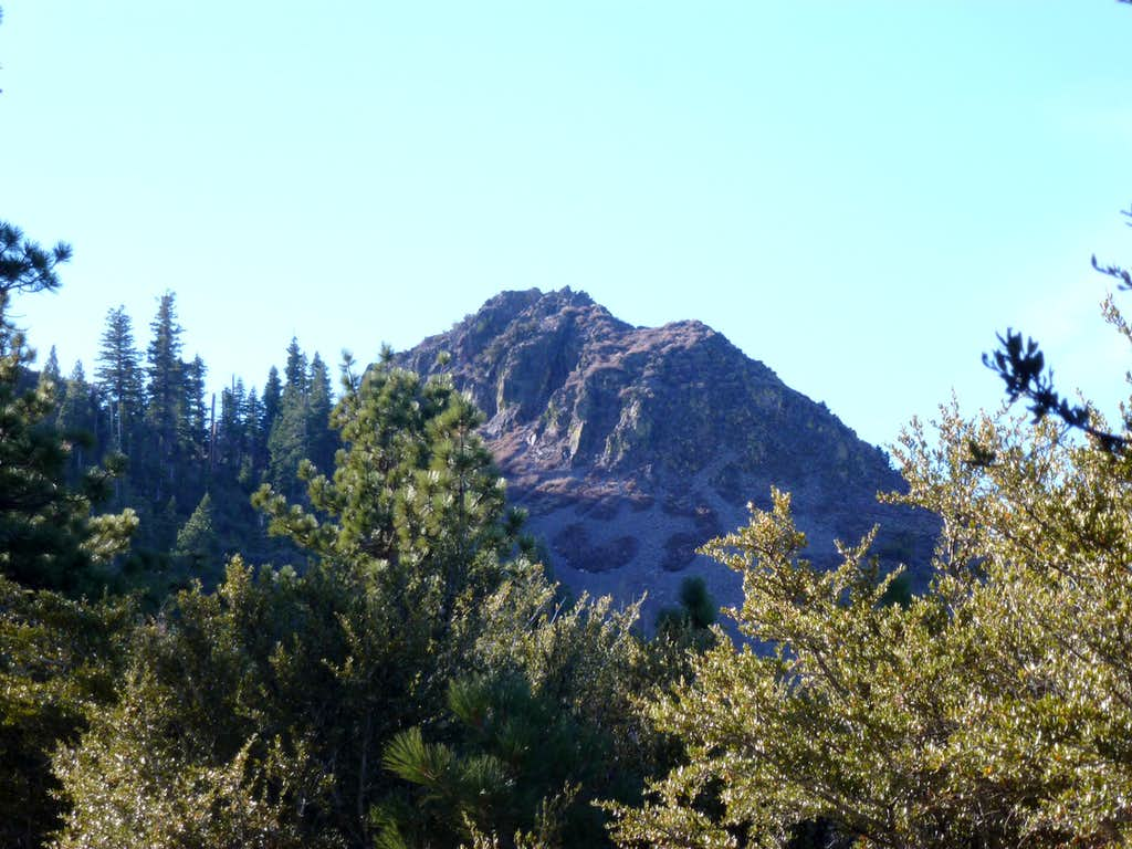 Looking towards the north face of Cone Peak