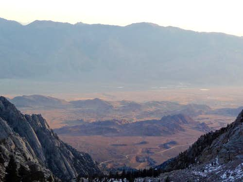 Looking towards the Alabama Hills