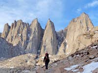 Approaching Mount Whitney