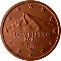 <a href= http://www.summitpost.org/kriva-328/154957  target= _blank >Krivaň</a> on 5 (& 2 & 1) Euro cents coins of Slovakia