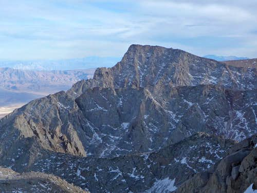 Lone Pine Peak to the SouthWest