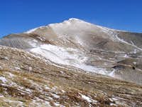 Looking North towards Mount...