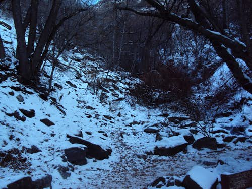 Strong Canyon Trail