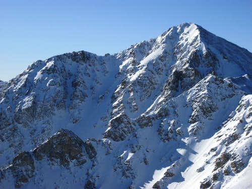 Huron Peak\'s Mighty East Face
