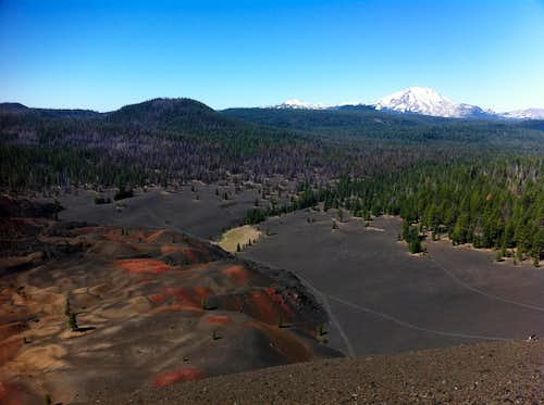 view from cinder cone