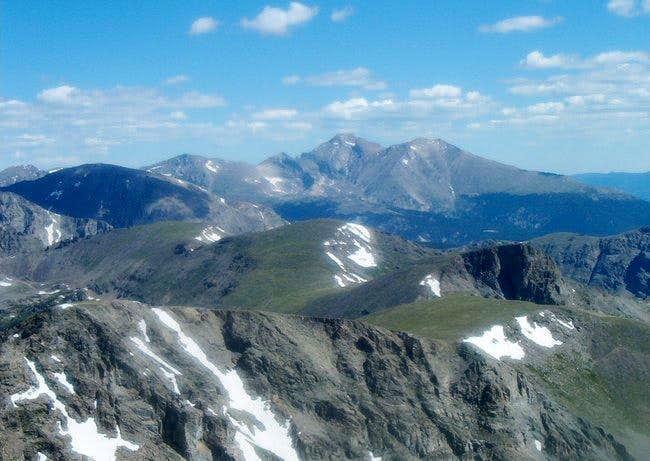 From Paiute Peak