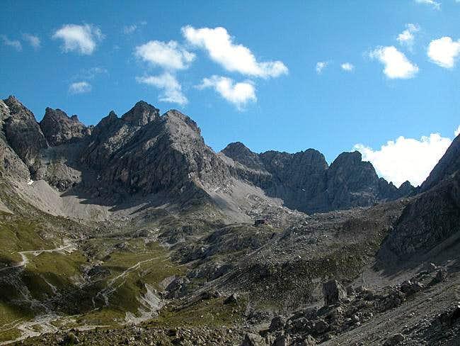 Große (2770m) and Kleine...