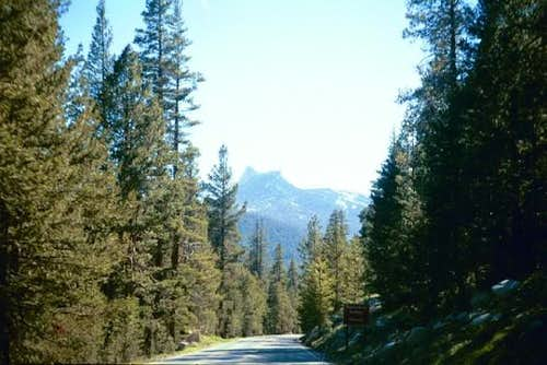 Cathedral Peak seen from...