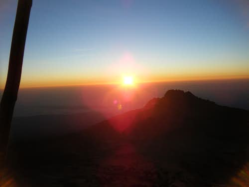 Sunrise on Summit Day