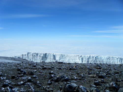 Crater Rim Glacier