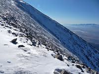 The Side of Wheeler Peak