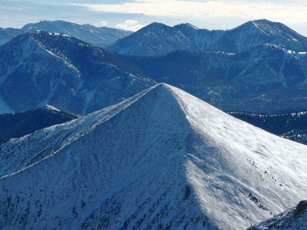 Baker Peak to the South