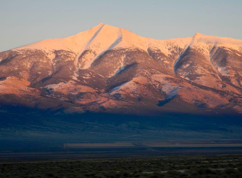 Wheeler Peak West Face